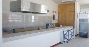 Antorcha gestiona desayunador para secundaria técnica 112 en Puebla