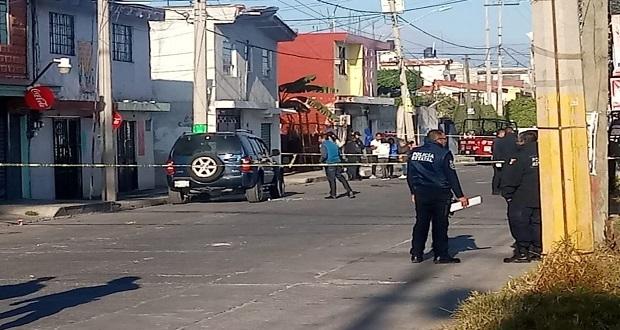 Balean a 3 en menos de 24 horas en Puebla y Texmelucan; mueren 2