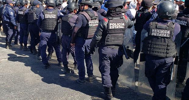 SSP separará del cargo a 43 agentes por no pasar control de confianza