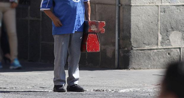 Puebla cierra 2019 con desocupación del 2.5% e informalidad del 71%