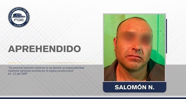 FGE detiene a hombre por feminicidio de su esposa en Cañada Morelos