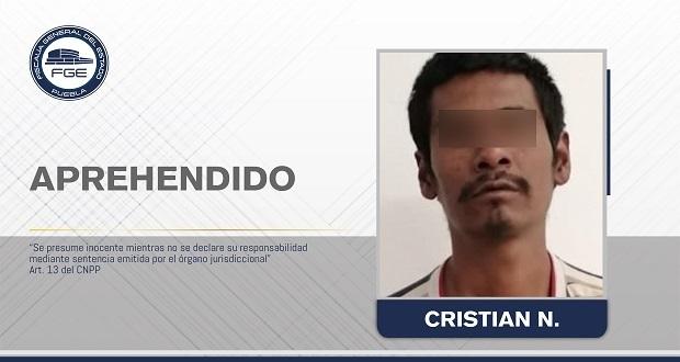 Fiscalía de Puebla reaprehende a un hombre por narcomenudeo