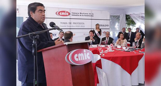 Barbosa va por reforma a Ley de Obra Pública para combatir corrupción
