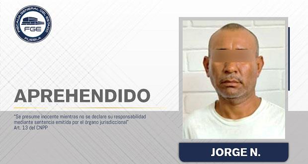 Aprehenden en Atencingo a presunto homicida que se fugó a EU