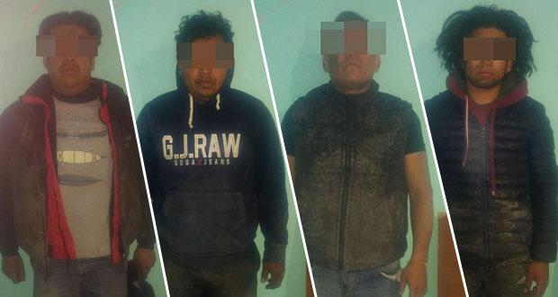 Detienen a 6 presuntos ladrones de gas y aseguran pipas en San Martín