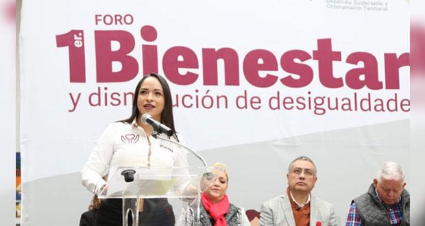 Invita Secretaría de Bienestar a foro de atención en Tehuacán