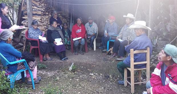 En comunidad de Tlaola, respaldan a Antorcha