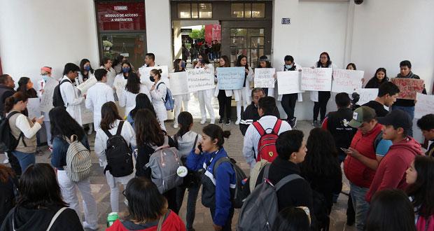 BUAP y Upaep se declara en paro tras asesinato de universitarios