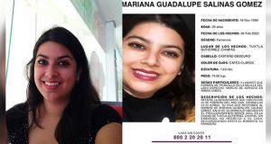 En Chiapas, desaparece la periodista Mariana Guadalupe Salinas