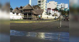 Joven poblano muere ahogado en playa de Boca del Río, Veracruz