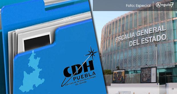 CDH integra 240 quejas en enero, 64.4% más; FGE sigue como la más señalada