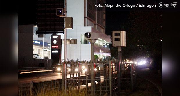 50% de radares por fotomultas, en Zona Metropolitana de Puebla: SSP