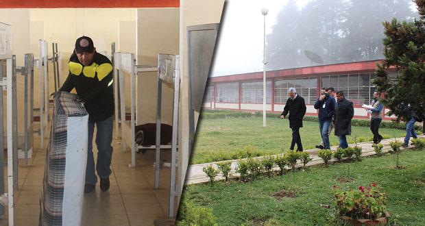 Inicia rehabilitación de secundaria que ofrece internado en Zaragoza