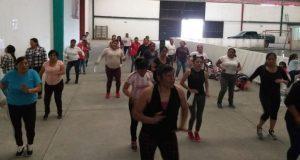 Inician en Ocoyucan taller gratuito de zumba