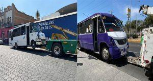 SMT revoca concesión a nueve unidades del transporte público.