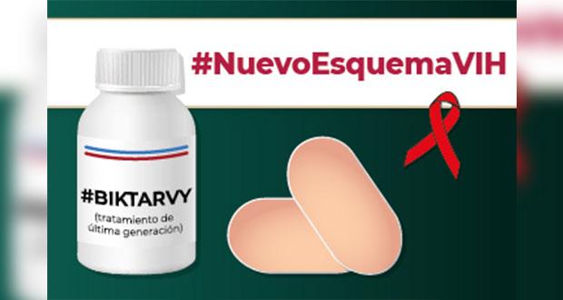 Biktarvy, nuevo tratamiento para pacientes con VIH en el IMSS