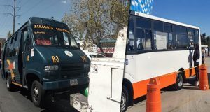 Aseguran tres unidades de rutas 65, 38A y 3 por irregularidades