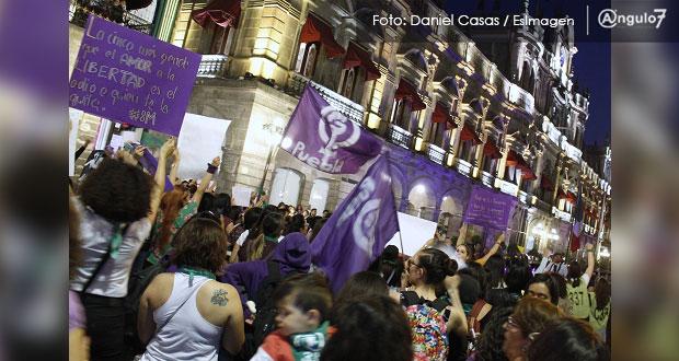 """8 de marzo, dos contingentes marcharán al zócalo para """"paralizar Puebla"""""""