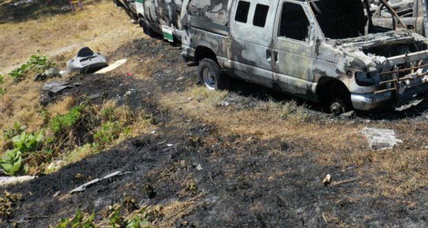 Por tercera vez en marzo, se incendia predio de IMSS La Margarita