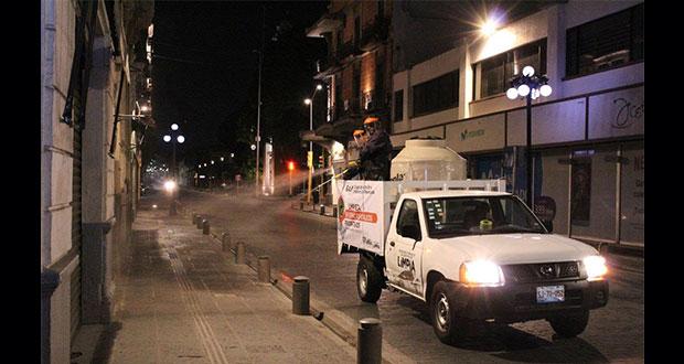 Ayuntamiento inicia limpieza preventiva en espacios públicos
