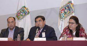 Barbosa manifiesta confianza a comunas para sacar adelante a Puebla