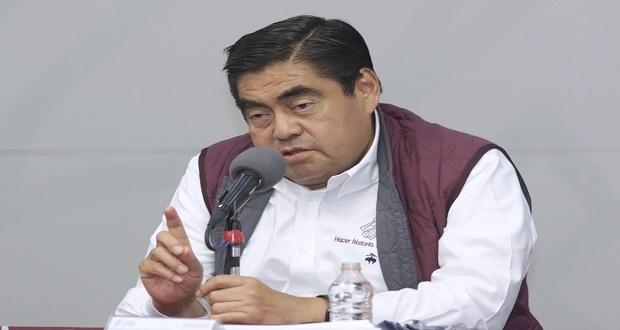 Gobierno emite decreto para asumir seguridad de Puebla capital: Barbosa