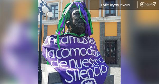 Buscan retirar estatua en Puebla de Plácido Domingo, señalado de acoso