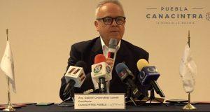 Por Covid-19, Canacintra pide aplazar cobro de impuestos en Puebla