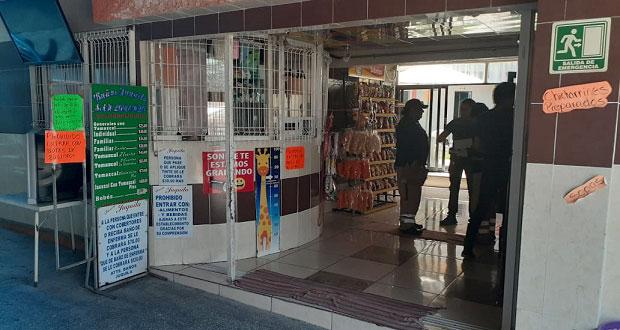 Por contingencia, Cuautlancingo aprueba cierre de negocios