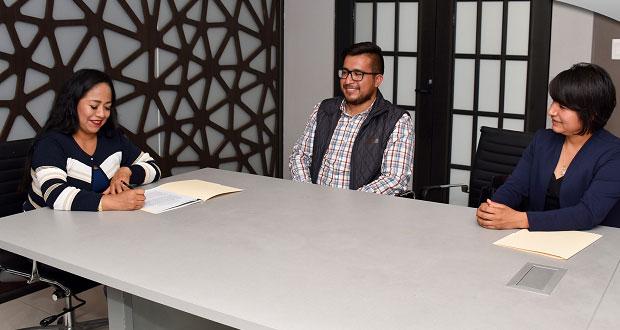Cuautlancingo e Icatep firman convenio para dar cursos de negocios