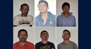 Detienen a 6 personas con droga y un carro robado en Chignahuapan