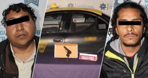 Detienen a dos con armas de fuego sin licencia en Totimehuacán