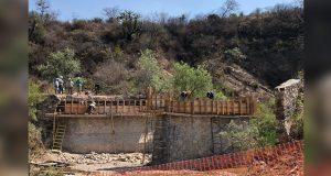 Gobierno estatal repara puente Tecali-Ahuatepec-Atoyatempan con 2.4 mdp