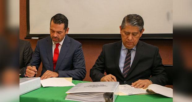 Firman acta para transferir el Semefo del TSJ a la FGE en Puebla