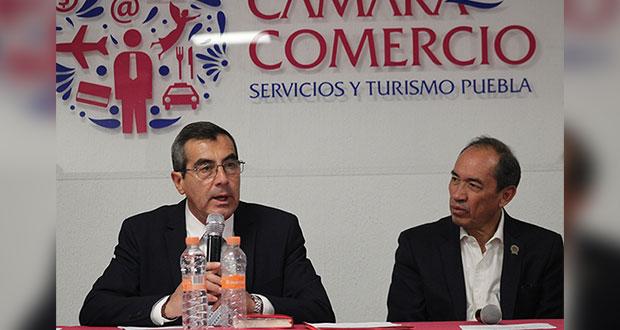 Nombran presidente de la Canaco en Puebla a Prósperi por 2da ocasión