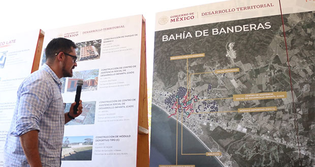 Con Mejoramiento Urbano, invierten 250 mdp en Bahía de Banderas