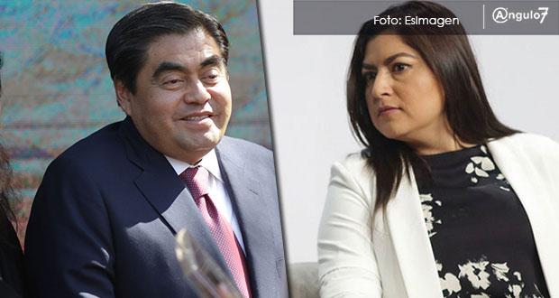 Seguridad en la ciudad de Puebla, la pugna entre Barbosa y Rivera
