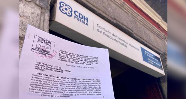 PAN interpone queja ante CDH contra Barbosa