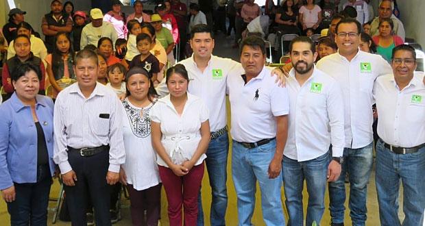 Padrón de afiliados en Puebla al PVEM llega a 40 mil: Jaime Natale