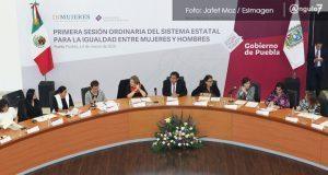Inmujeres destinará 32 mdp a Puebla y pide modificar delitos
