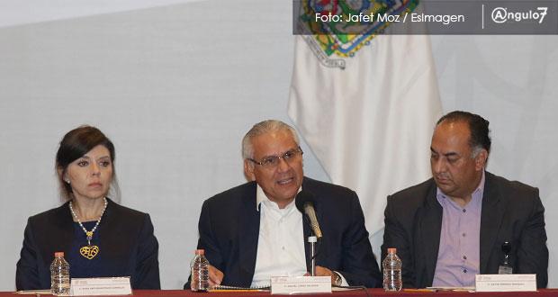 17.5% de policías municipales en Puebla no está acreditado ni evaluado: SSP