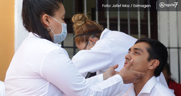 Salud analiza 3 casos sospechosos de poblanos con Covid-19; cifra sigue en 9