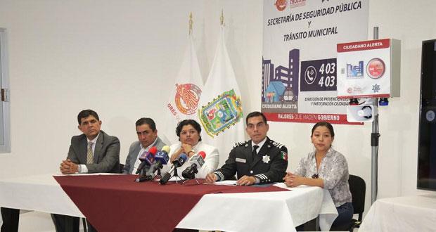 """Karina Pérez presenta aplicación móvil """"Ciudadano Alerta"""""""