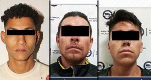 SSC y FGE reportan detención de 2 por robo a Famsa de Loma Bella