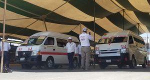 Supervisa Movilidad y Transporte 841 unidades en Mixteca poblana