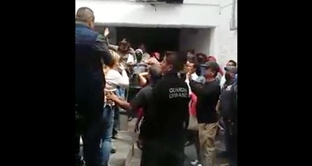 Trifulca en presidencia de Cuautlancingo por el control de Almecatla