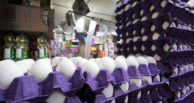 Kilo de huevo alcanza los 40 pesos; alza es estacional, dice Profeco