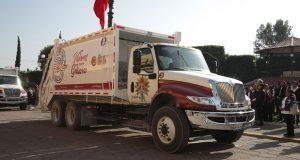 San Andrés Cholula comienza a dar servicio recolector de basura
