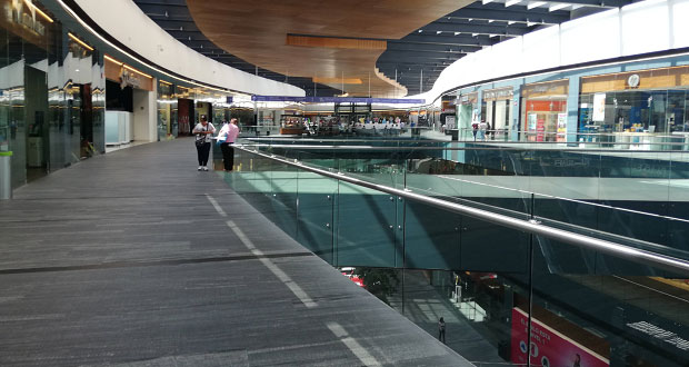 En Puebla, centros comerciales trabajan al 30% de su capacidad: Acecop