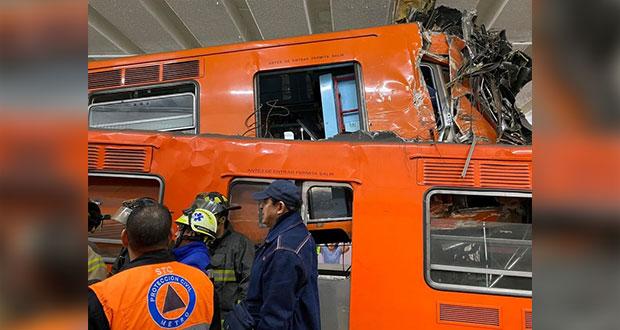 Choque de trenes en Metro Tacubaya, por error humano: FGJ